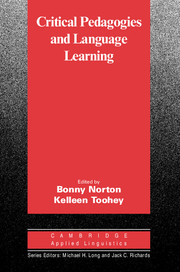 Critical Pedagogies and Language Learning (The Cambridge Applied Linguistics series)