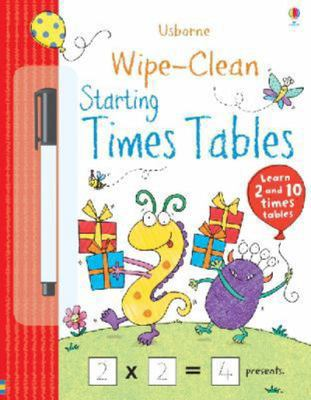Starting Times Tables (Usborne Wipe-Clean)