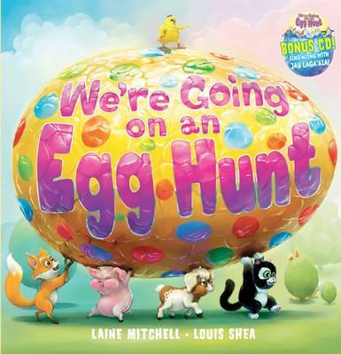 We're Going on an Egg Hunt (Book & CD)