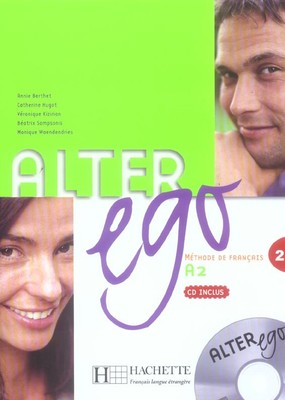 Alter Ego 2 / A2 Livre de l'eleve & audio CD