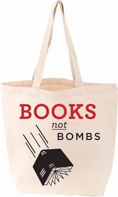 Books Not Bombs Tote Bag
