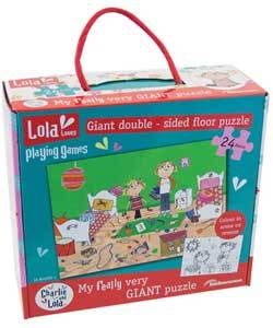 Charlie and Lola Giant Puzzle