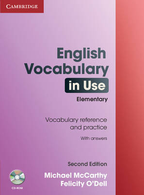 English Vocabulary in Use: Elementary with Answers and CD-ROM