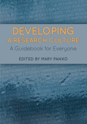 Large developing a research culture front cover web