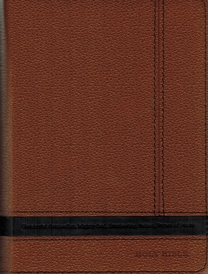 NIV Bible Compact Brown Indexed