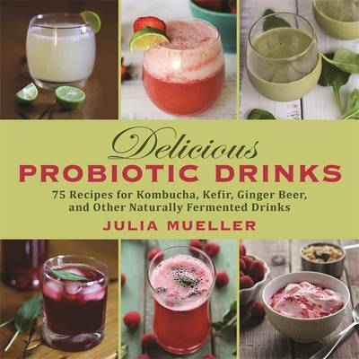 Delcious Probiotic Drinks: 75 Recipes for Kombucha, Kefir, Ginger Beer, and Other Naturally Fermented Drinks
