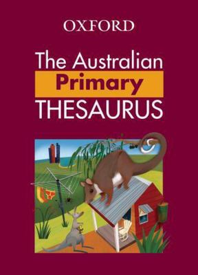 The Australian Primary Thesaurus