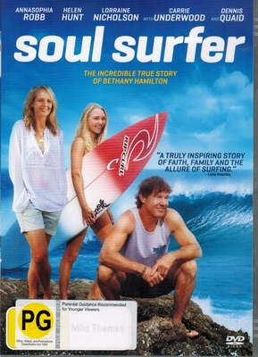 Soul Surfer DVD
