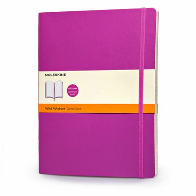 Moleskine Soft Extra Large Orchid Purple Ruled Notebook