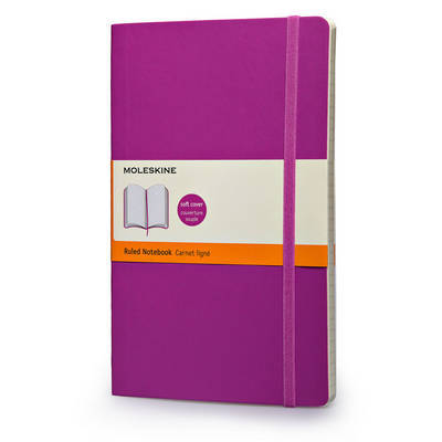 Moleskine Soft Large Orchid Purple Ruled Notebook