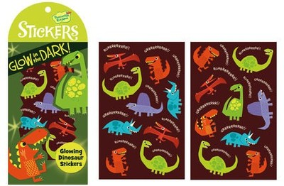 Dinosaurs Glow in the Dark Stickers
