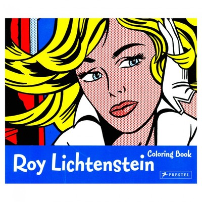 Roy Lichtenstein Colouring Book