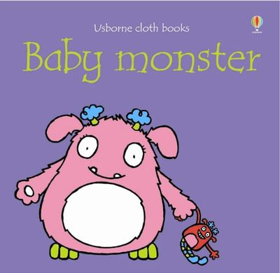 Baby Monster (Usborne Cloth Book)