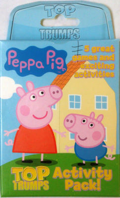 PEPPA PIG TOP TRUMP ACTIVITY CARDS