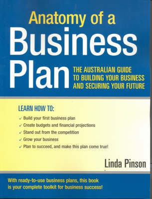 Anatomy of a Business Plan 6