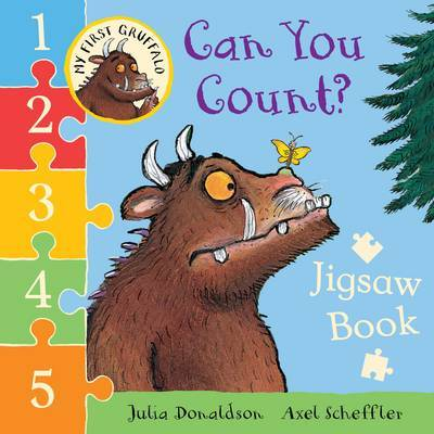 Can You Count? Jigsaw Book  (My First Gruffalo)