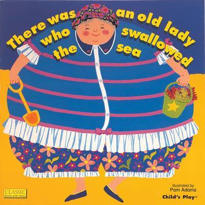 There Was an Old Lady Who Swallowed the Sea (Big Book)