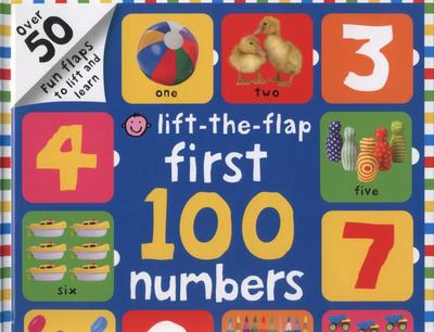 First 100 Numbers (Lift-the-Flap Board Book)