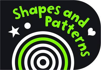 Shapes and Patterns (Black and White Chunky Board)