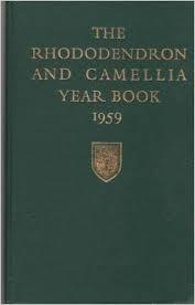 RHS Rhododendron & Camellia Yearbooks 1957-63