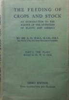 FEEDING OF CROPS AND STOCK PART 1 THE PLANT