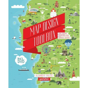 the map design toolbox time saving templates for graphic design by