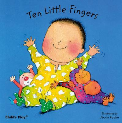 Ten Little Fingers (Board Book)