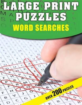 Large Print Puzzles: Word Searches