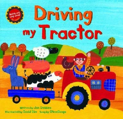 Driving My Tractor (Book & CD)