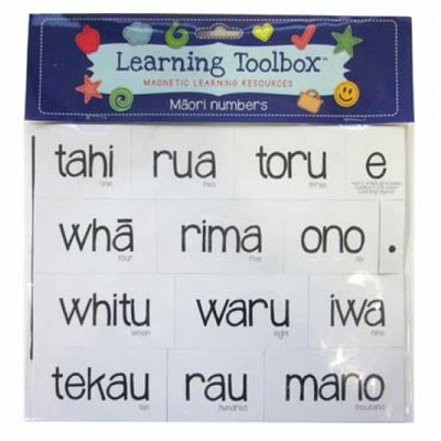 Maori Numbers (Magnetic Learning Resources)