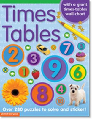 Times Tables Sticker Book