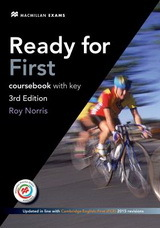 Ready for First: Coursebook with key, 3rd ed.