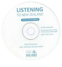 Listening to New Zealand: Post Beginner - Audio CD