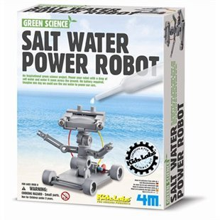 Salt-Powered Robot (Green Science)
