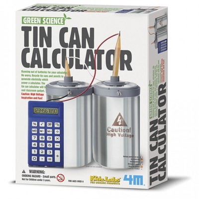 Tin Can Calculator (Green Science)
