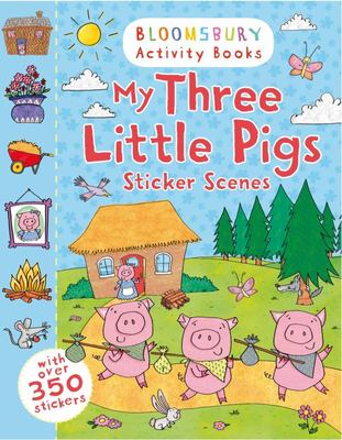 My Three Little Pigs Sticker Scenes