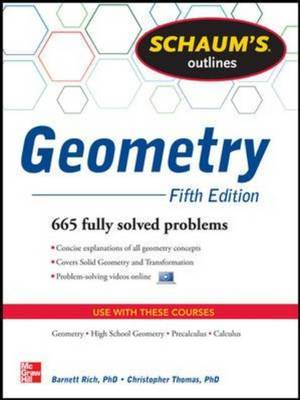 Schaum's Outline of Geometry