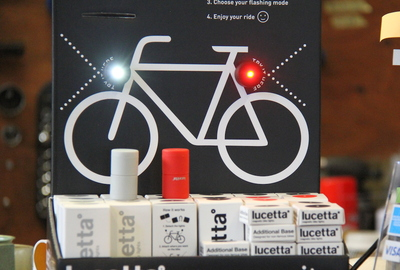 Lucetta Magnetic Bike Light - Black