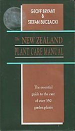The New Zealand Plant Care Manual
