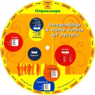 German Irregular Verb Wheel (2 ed)