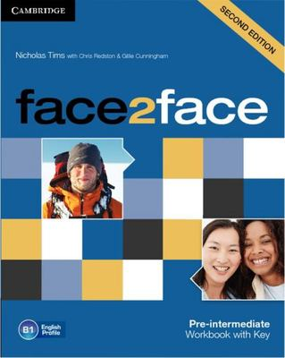 face2face Pre-intermediate Workbook with Key 2nd Edition