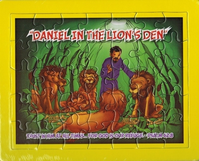Jigsaw puzzle: Daniel in the Lion's Den