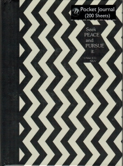Journal pocket chevron