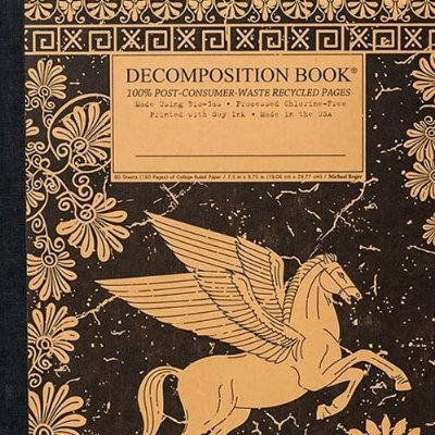Pegasus Pocket Ruled Decomposition Notebook
