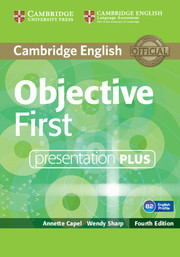 Objective First: Presentation Plus DVD-ROM