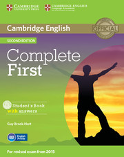 Complete First: Teacher's Pack (Student's Book with answers with CD-ROM, Workbook with answers with Audio CD)