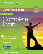 Complete First: Student's Pack (Student's Book without answers with CD-ROM, Workbook without answers with Audio CD)