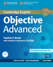 Objective Advanced 4 ed. Teacher's Book with Teacher's Resources CD-ROM