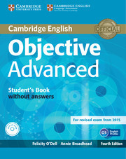 Objective Advanced 4 ed. Student's Book without answers with CD-ROM