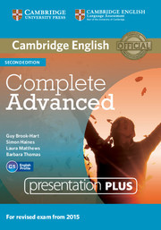 Complete Advanced 2ed: Presentation Plus DVD ROM